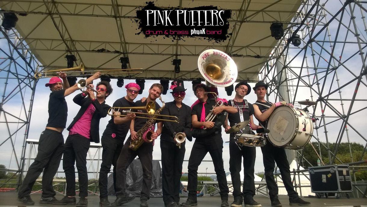 Risultati immagini per Pink Puffers Brass Band