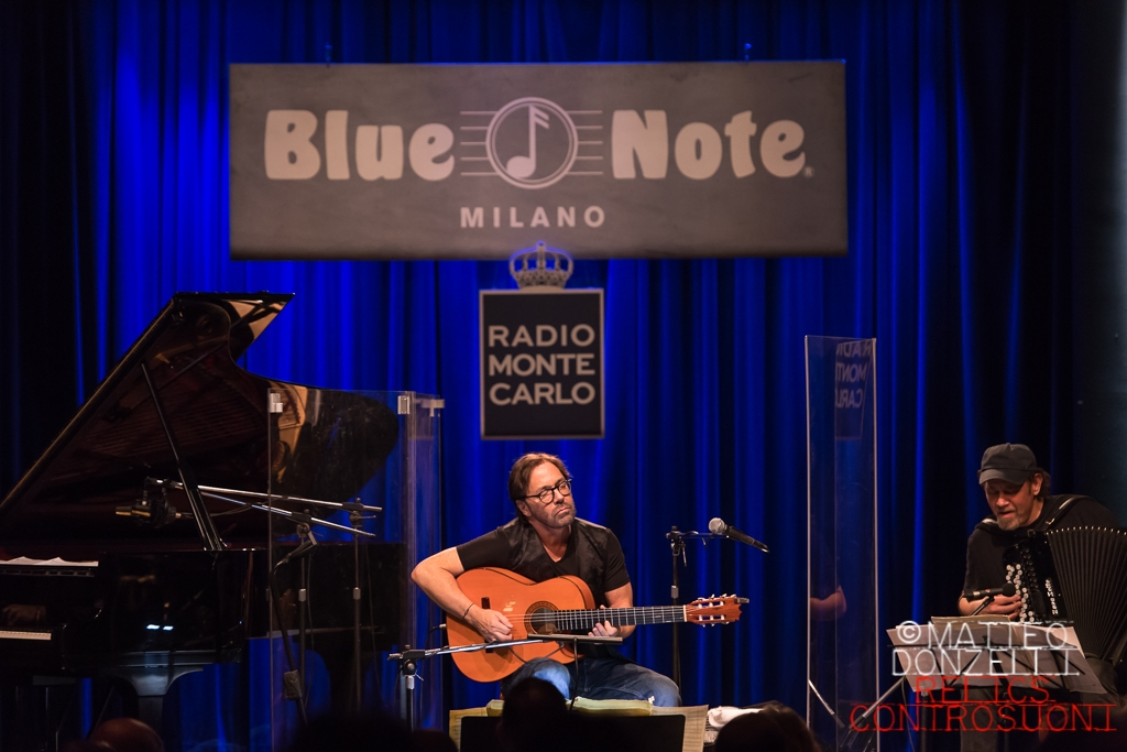 Al Di Meola @Blue Note, Milano (foto di Matteo Donzelli)