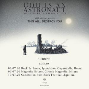 God Is An Astronaut: tour a luglio!