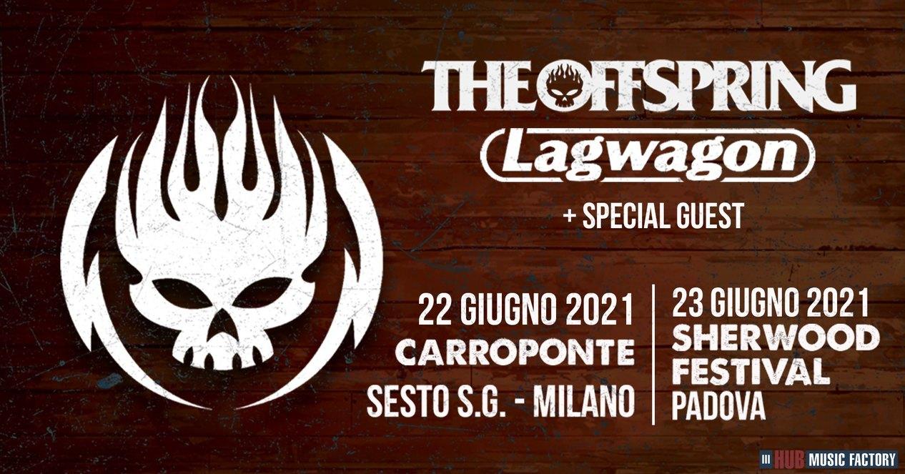 The Offspring e Lagwagon: due date in Italia a giugno 2021