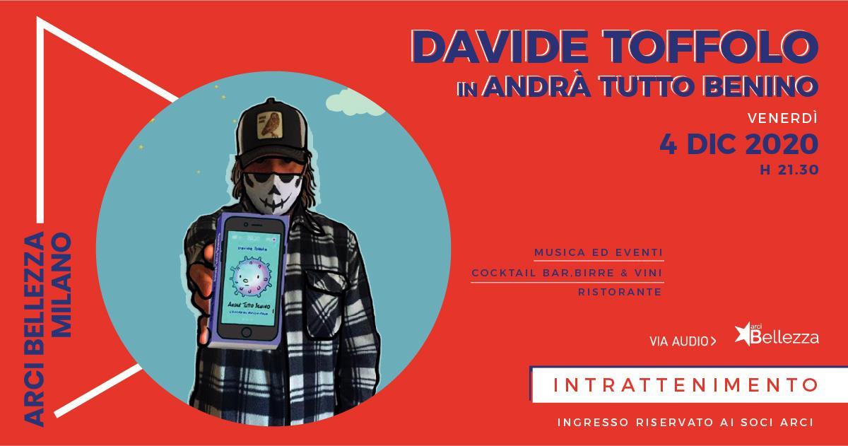 Davide Toffolo in #andràtuttobenino all'Arci Bellezza, Milano