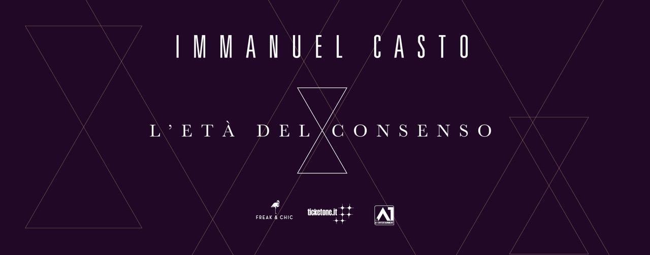Immanuel Casto at Urban Perugia // L'età del consenso tour