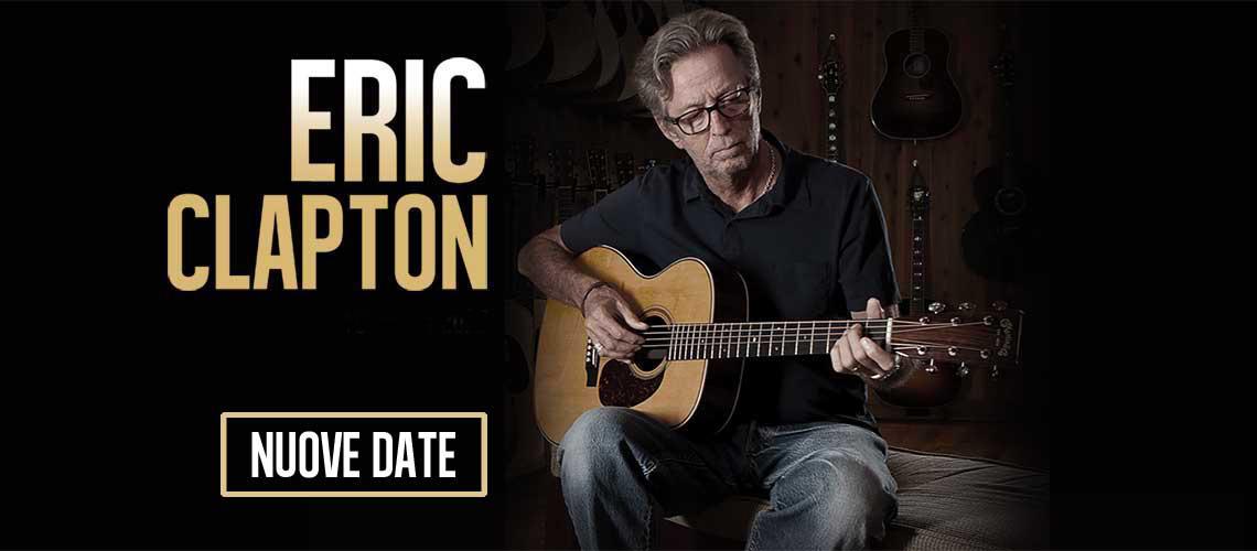 Rinviate le date italiane del tour di Eric Clapton