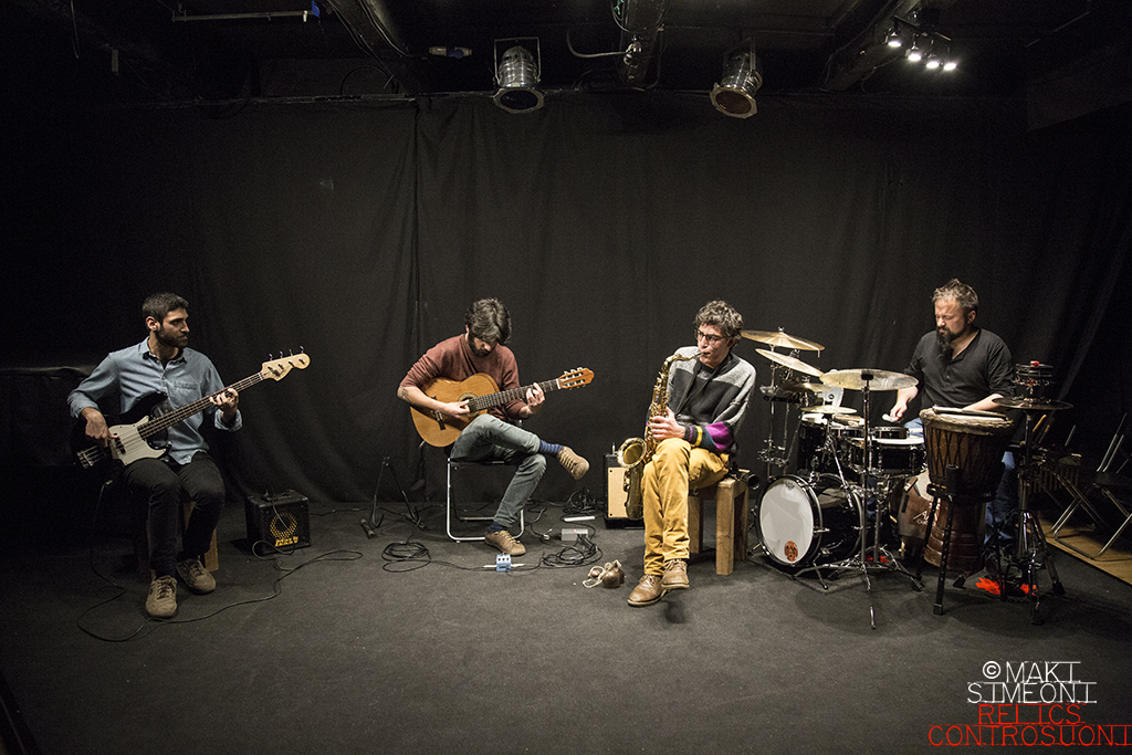 Mephitis Ensemble @Teatro Studio Keiros, Roma (foto di Maki Simeoni)