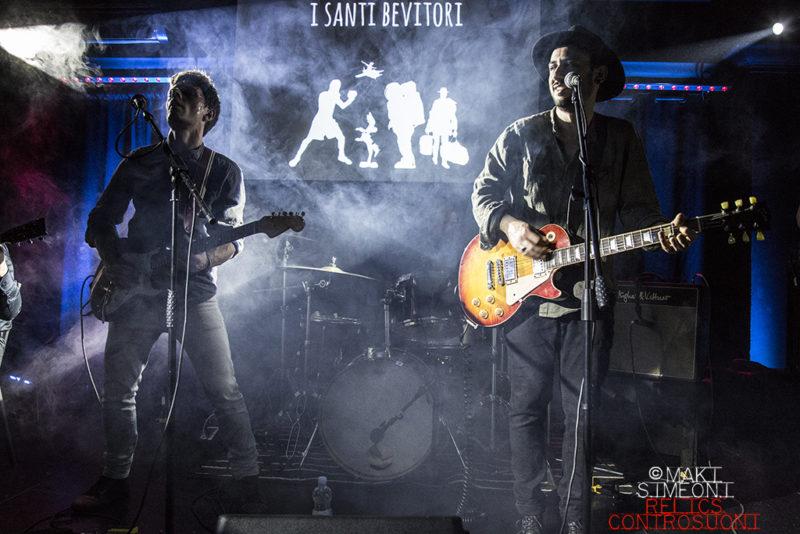 I Santi Bevitori @Wishlist Club, Roma (foto di Maki Simeoni)