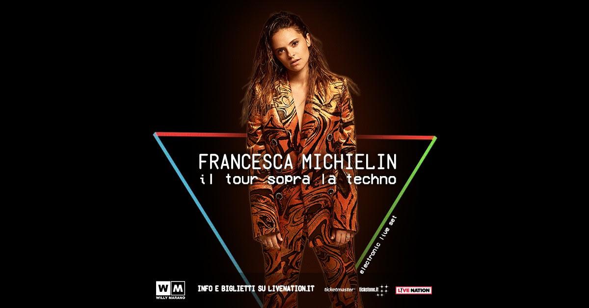 """FRANCESCA MICHIELIN: """"Il Tour sopra la techno"""", un electronic live set nei club italiani quest'autunno"""