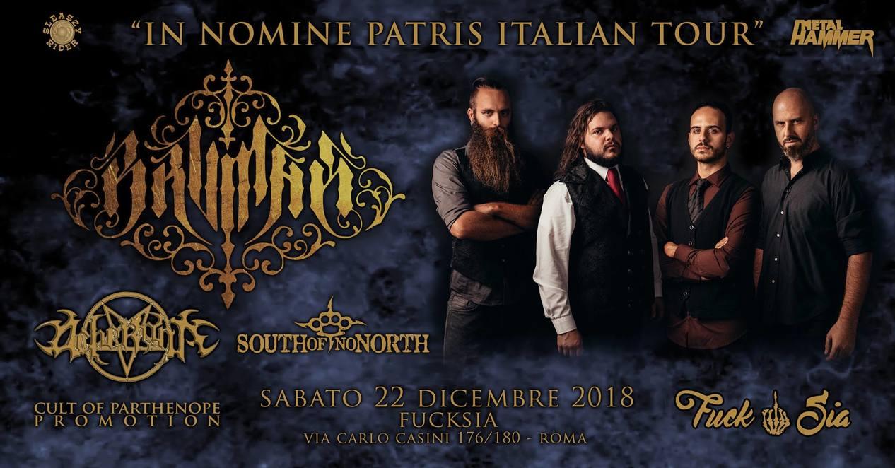 Brvmak + Acheronte + South Of No North live al FuckSia di Roma!