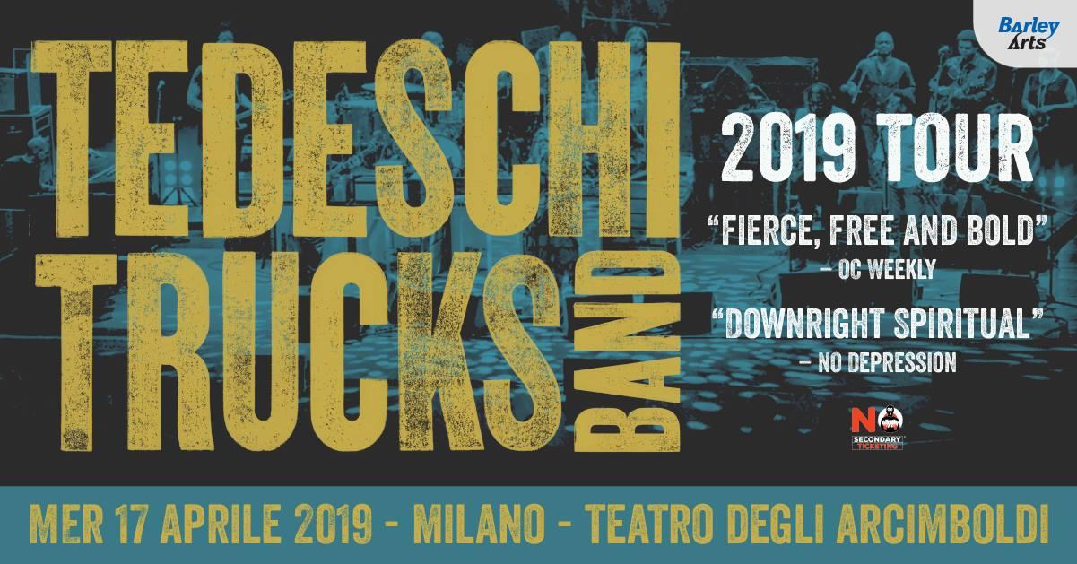 An evening with Tedeschi Trucks Band live a Milano