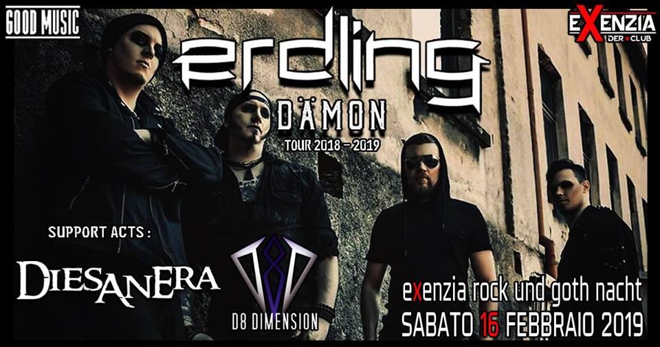 ERDLING - Damon Tour, UNICA DATA ITALIANA