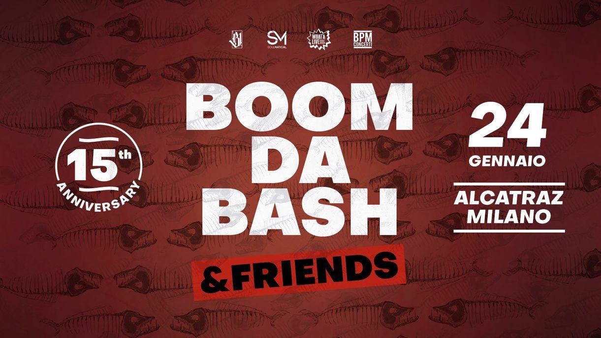 Manca poco all' incredibile Boomdabash & Friends, 24/01 all' Alcatraz di Milano!