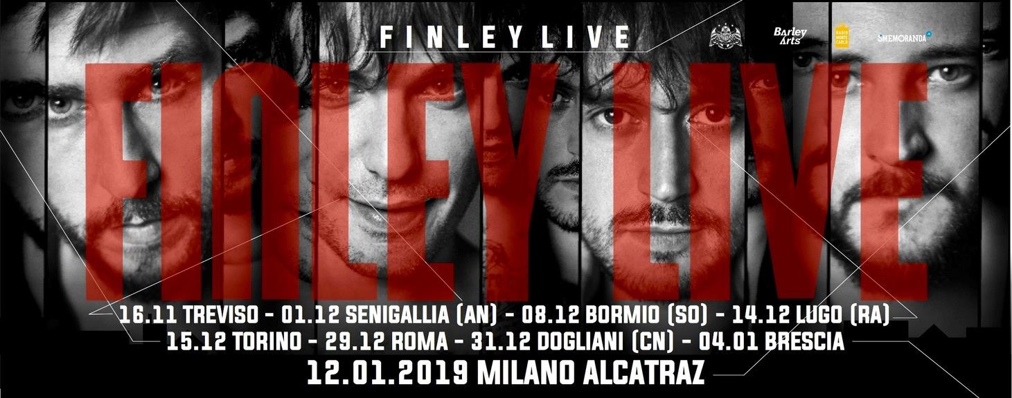 Finley live all'Alcatraz di Milano il prossimo 12 gennaio!