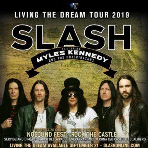 SLASH featuring Myles Kennedy and The Conspirators aggiunta una data a Servigliano!