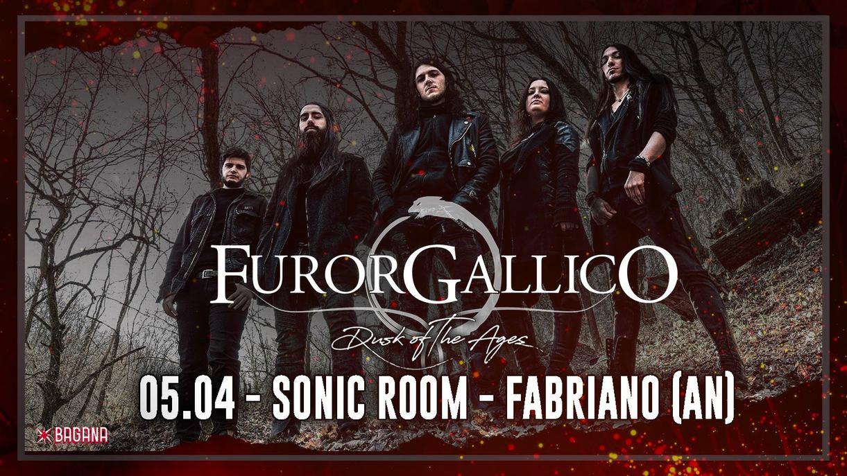 Furor Gallico: live al Sonic Room di Fabriano (AN)