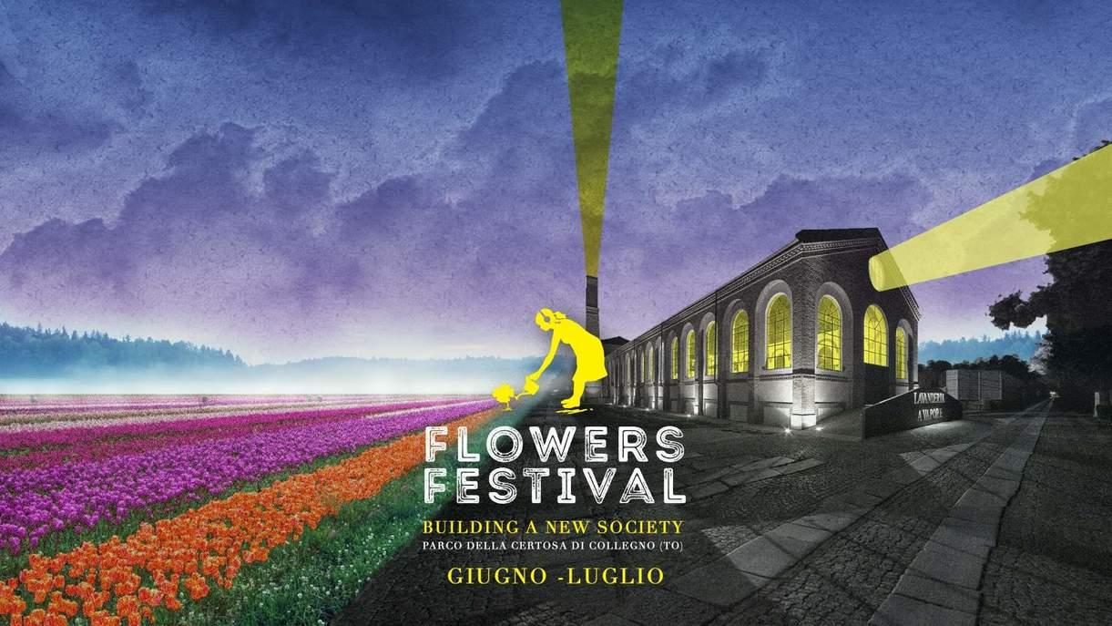 Al via Flowers Festival - dal 27 giugno al 20 luglio a Collegno (TO)