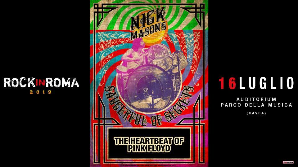 Nick Mason's Saucerful Of Secrets a Rock in Roma