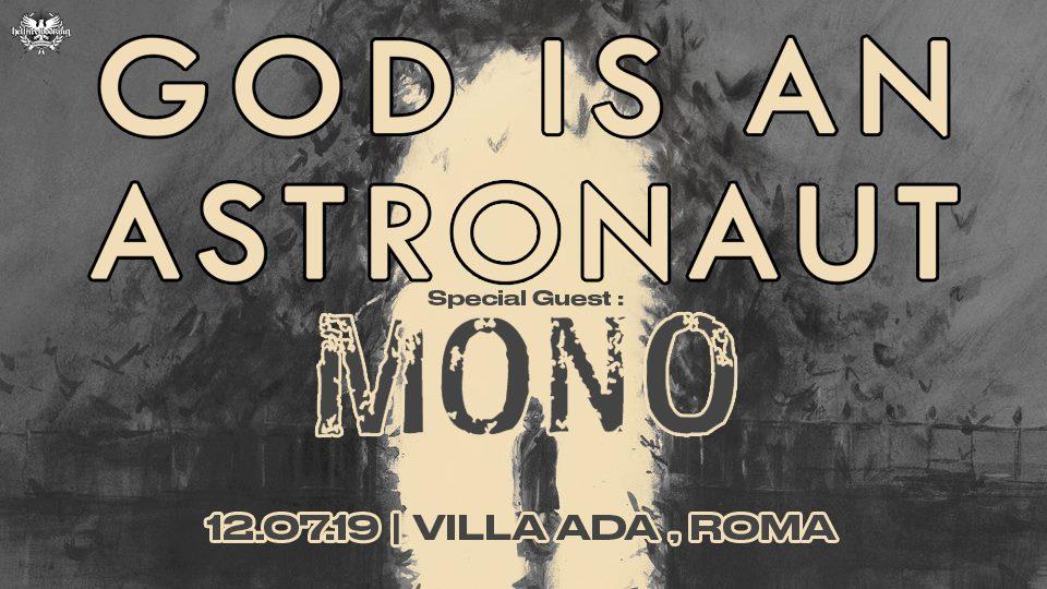 God Is An Astronaut e Mono insieme in un'unica data a Villa Ada