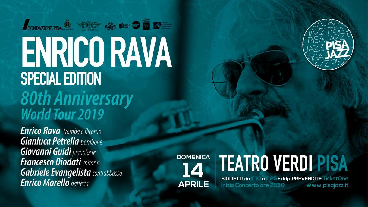 "Enrico Rava 80° anniversario - ""Special Edition"" World Tour 2019"
