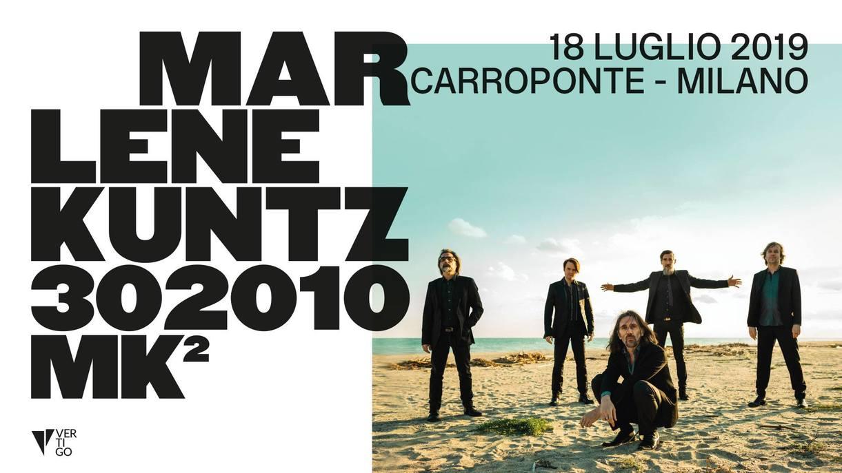 MARLENE KUNTZ: il doppio concerto al Carroponte di Milano