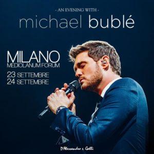 Michael Bublé in Italia per due date a settembre 2019