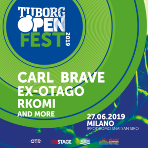 Tuborg Open Fest:  giovedì 27 giugnoall'Ippodromo SNAI San SirodiMilano