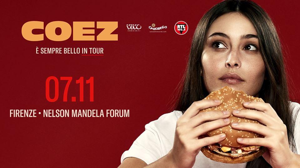 Coez // Firenze - Nelson Mandela Forum