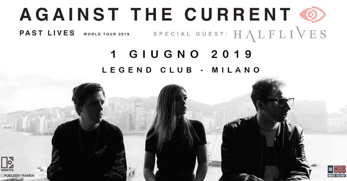 Against the current: 1 giugno Legend di Milano