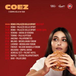 """Coez torna con il suo """" E' SEMPRE BELLO IN TOUR"""""""