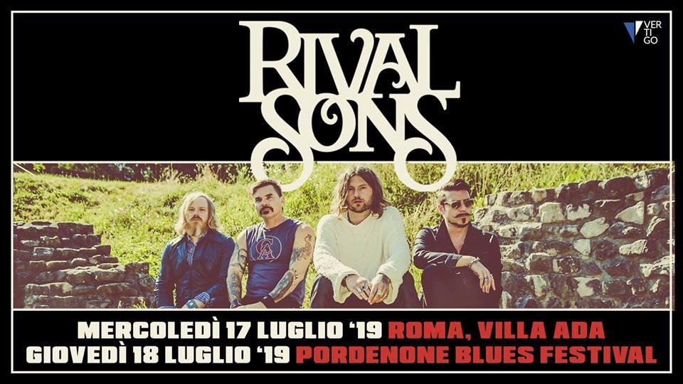I Rival Sons tornano in Italia!