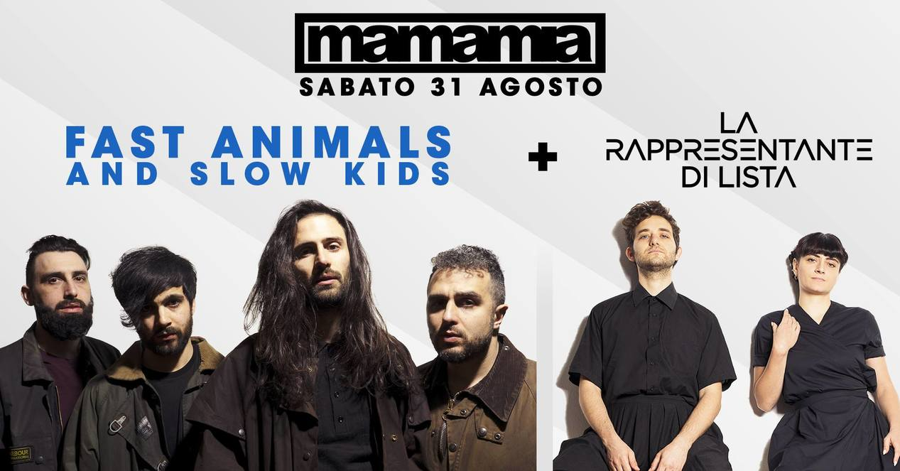 Fast Animals and Slow Kids al Mamamia di Senigallia