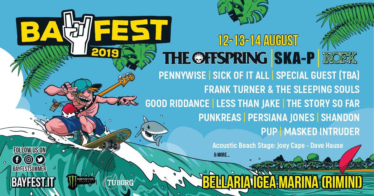 BAY FEST: 12-13-14 AGOSTO 2019 | BELLARIA IGEA MARINA, RIMINI