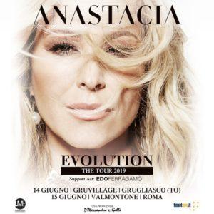 Anastacia: torna in Italia a giugno per due date a Grugliasco Torino e Roma