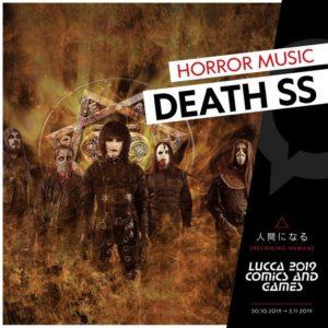 DEATH SS: Show speciale il 31 ottobre a Lucca Comics & Games 2019