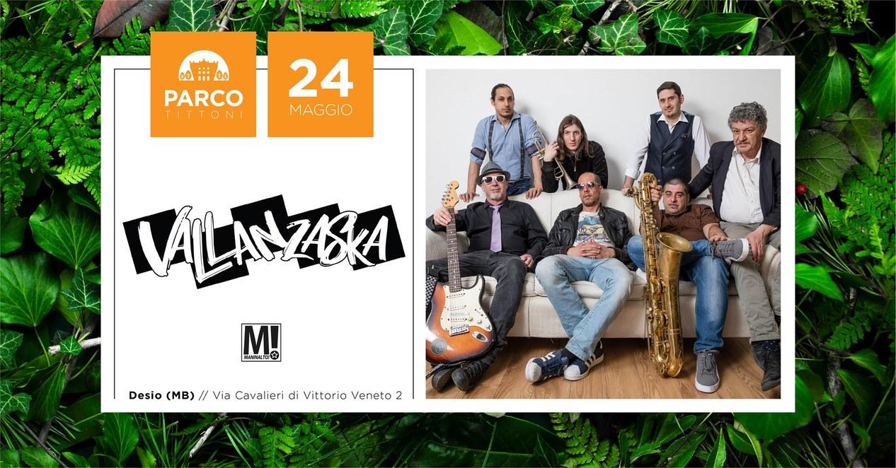 VALLANZASKA: tornano a presentare il loro nuovo EP al Parco Tittoni di Desio (MB)