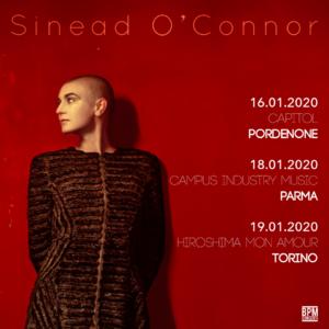 Sinead O'Connor  in Tour nel 2020