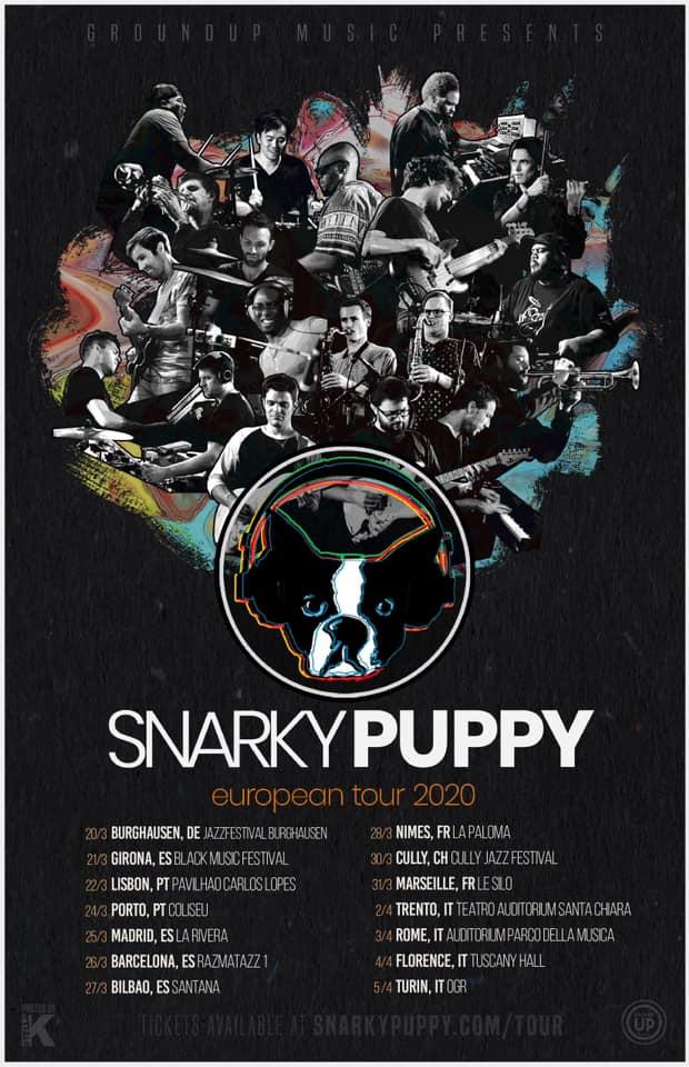Snarky Puppy, quattro date italiane nel 2020