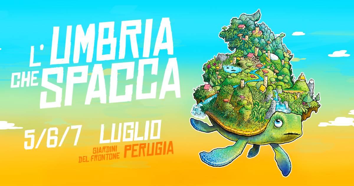 L'Umbria Che Spacca Festival a Perugia dal 5 al 7 luglio