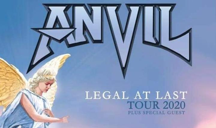 Anvil: 2 date in Italia ad Aprile 2020