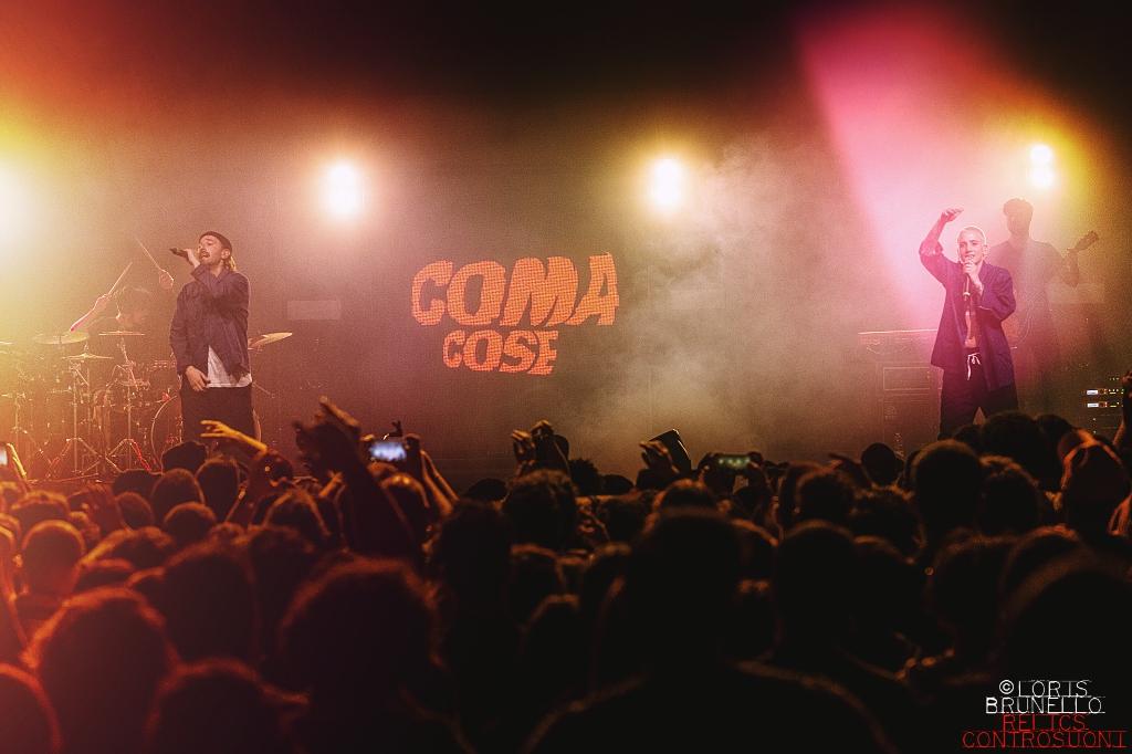 Coma_Cose @Teatro Della Concordia, Venaria Reale – TO (foto di Loris Brunello)