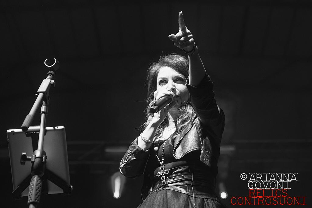 Cristina D'Avena & Gem Boy @ PalaEstragon Club, Bologna (foto di Arianna Govoni)