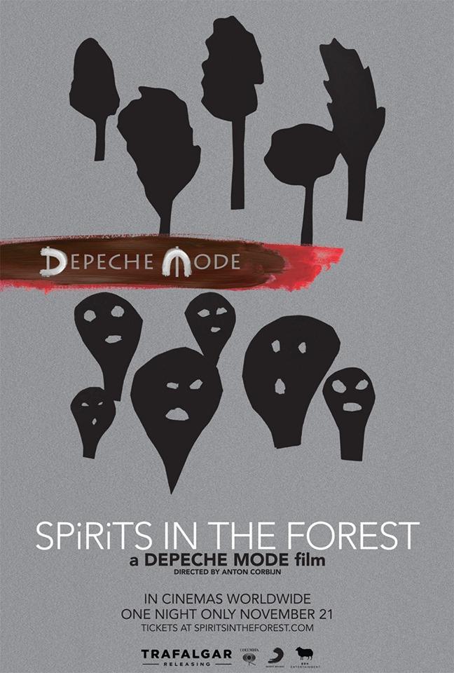 Esce a novembre il docu-film SPIRITS in the Forest sulla vita dei Depeche Mode