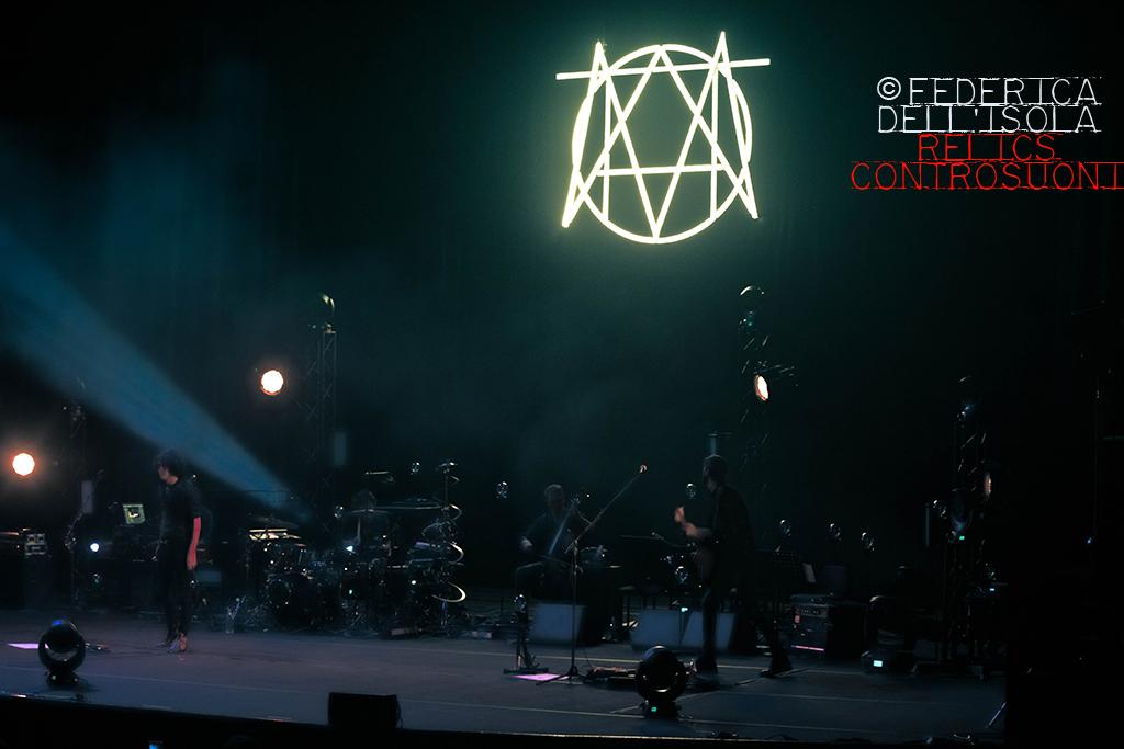 Motta live @ Auditorium Parco della Musica Roma (foto di Federica Dell'Isola)