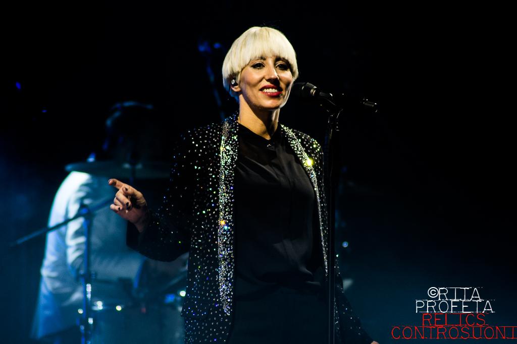 Malika Ayane @Teatro Golden, Palermo (foto di Rita Rose Profeta)