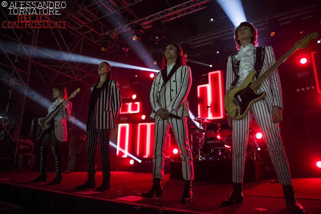 Måneskin @Atlantico Live, Roma (foto di Alessandro Tornatore)