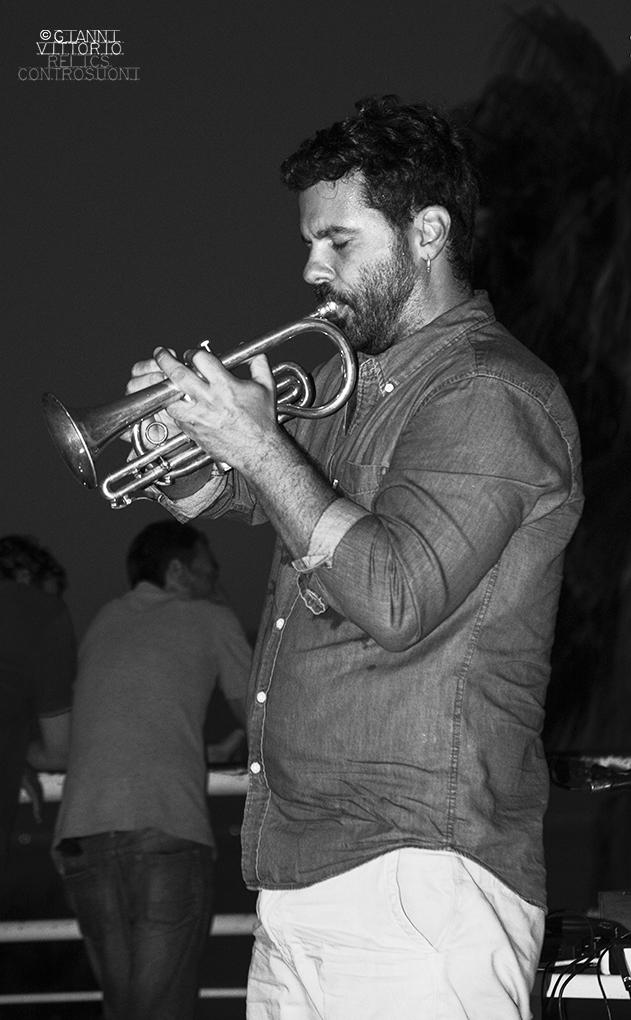 Gabriele Mitelli @Ecojazz 2019, Reggio Calabria (foto di Gianni Vittorio)