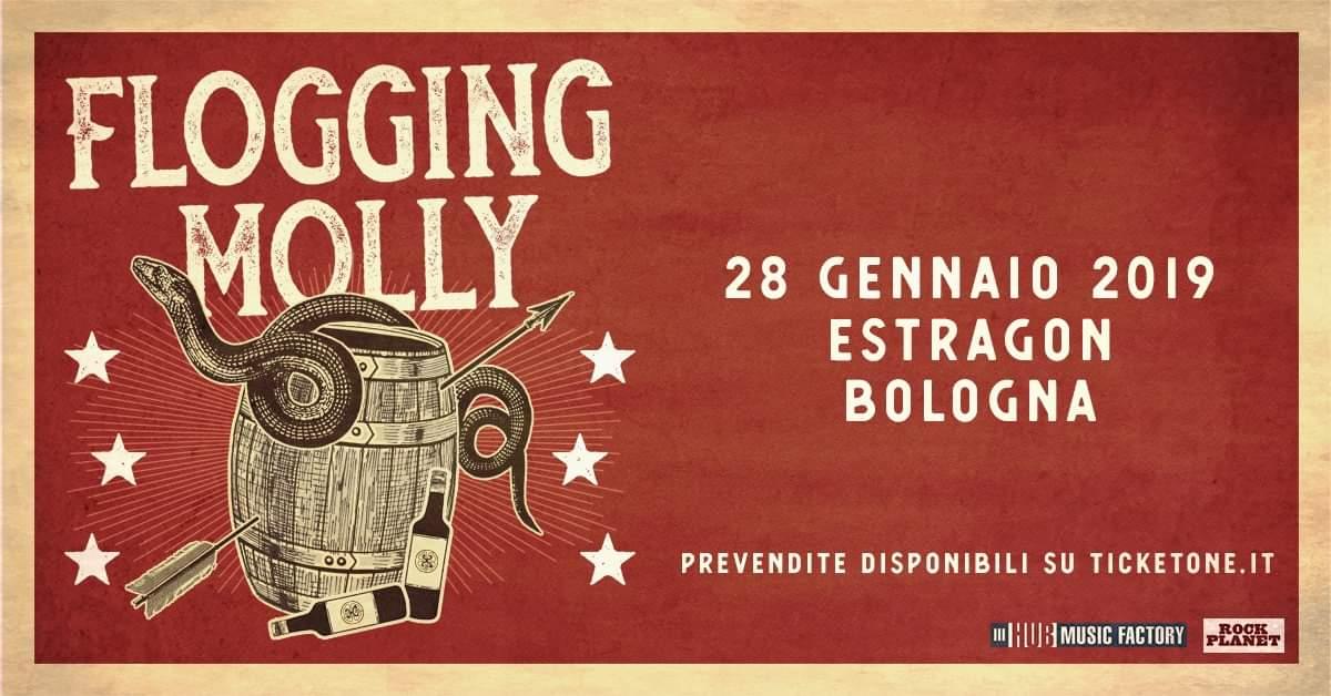 FLOGGING MOLLY: a gennaio una nuova data in Italia per la band Irish punk