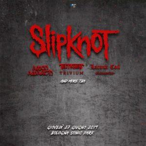 Slipknot: una data a Bologna in giugno