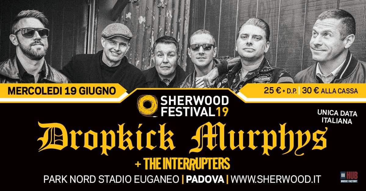 DROPKICK MURPHYS + The Interrupters: i re dell'Irish punk tornano in Italia per un'unica grande data estiva
