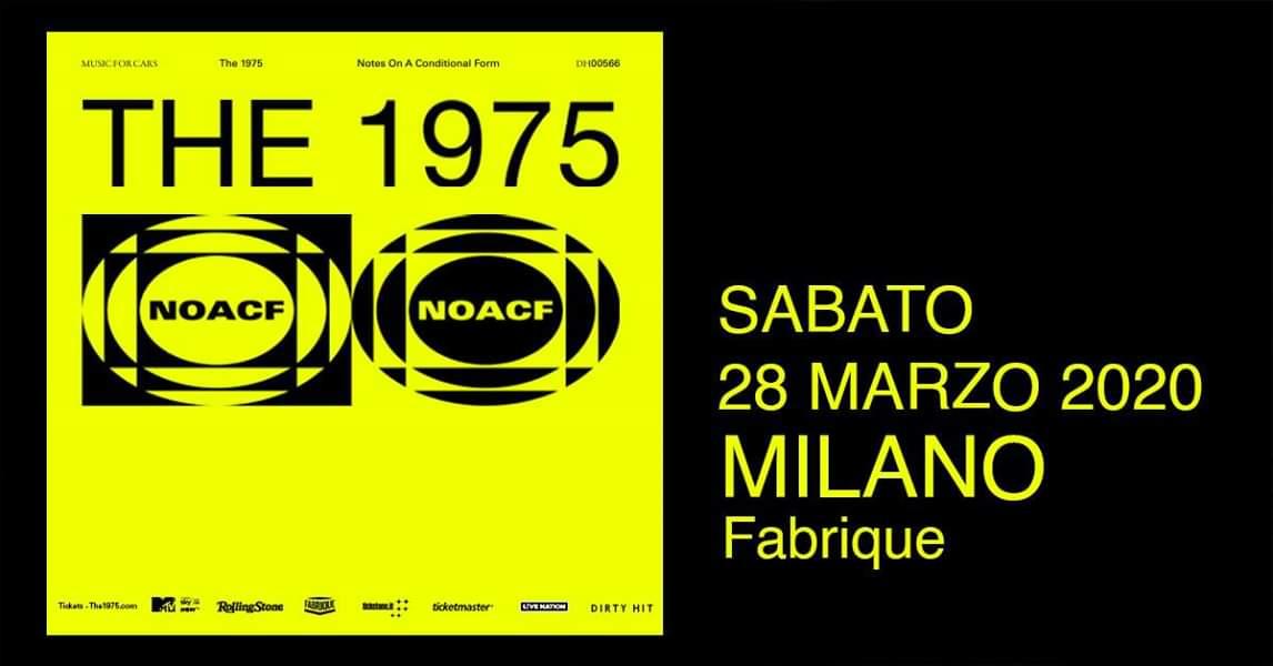 THE 1975: annunciato il tour mondiale. Unica tappa in Italia il 28 marzo al Fabrique di Milano