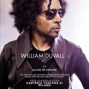 William Duvall in italia col suo progetto solista