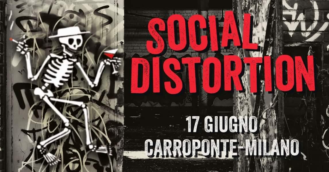 SOCIAL DISTORTION: NUOVA DATA MILANESE PER GLI IRRIDUCIBILI DEL PUNK ROCK
